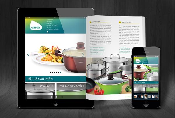 Carez catalogue and website