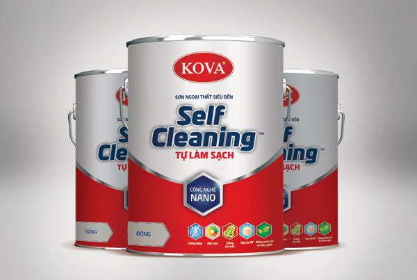 Kova Self-Cleaning Paint