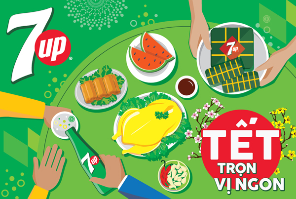 7UP TET 2018 Packaging
