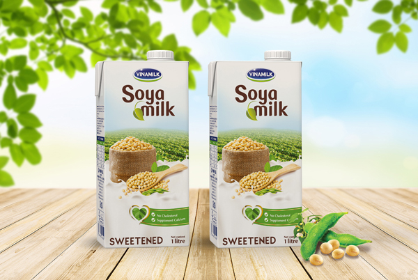 Packaging design for Soya Milk