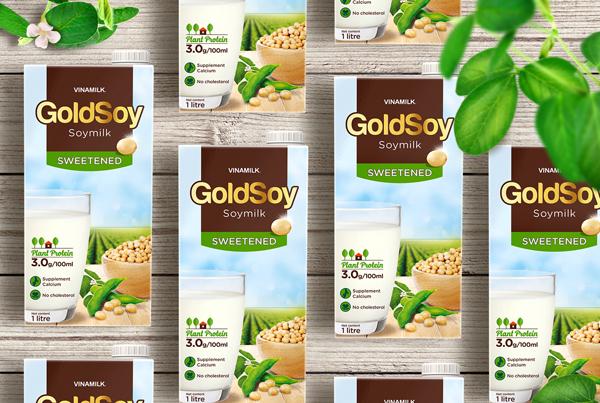 GoldSoy Soy Milk